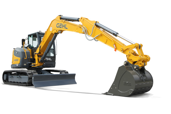 Gehl | Compact Excavators | Model M100 for sale at Hines Equipment, A full-service equipment dealer in Central Pennsylvania.