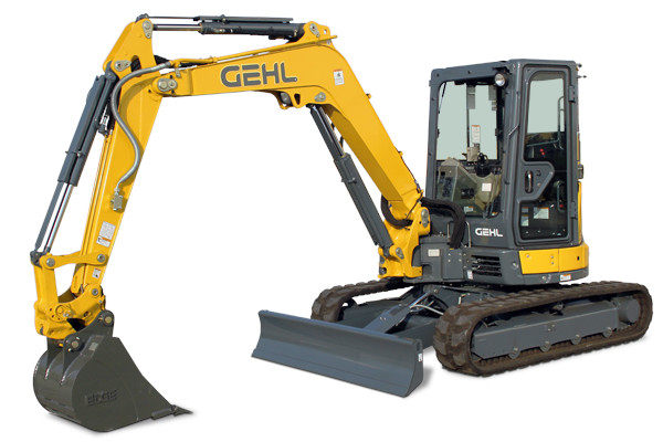 Gehl | Compact Excavators | Model Z45 GEN:2 for sale at Hines Equipment, A full-service equipment dealer in Central Pennsylvania.