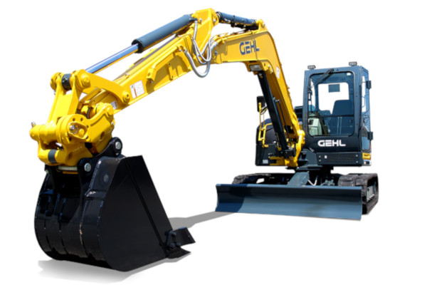 Gehl | Compact Excavators | Model Z80 GEN:2 for sale at Hines Equipment, A full-service equipment dealer in Central Pennsylvania.