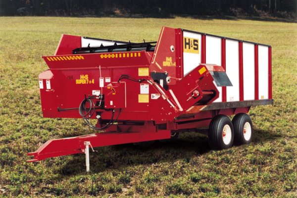 H&S 7-4 Feeder Box for sale at Hines Equipment, A full-service equipment dealer in Central Pennsylvania.