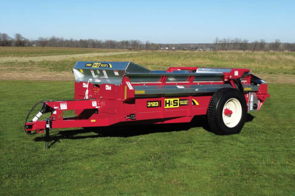 H&S | Heavy Duty Manure Spreaders | Model Model 3123 for sale at Hines Equipment, A full-service equipment dealer in Central Pennsylvania.