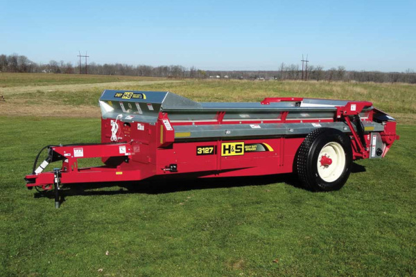 H&S | Heavy Duty Manure Spreaders | Model Model 3127 for sale at Hines Equipment, A full-service equipment dealer in Central Pennsylvania.