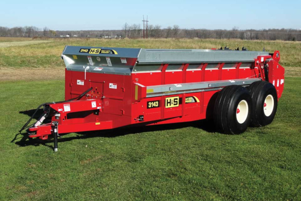 H&S Model 3143 for sale at Hines Equipment, A full-service equipment dealer in Central Pennsylvania.
