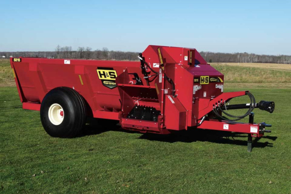 H&S | Top Shot Side Discharge Manure Spreaders | Model Model 5215 for sale at Hines Equipment, A full-service equipment dealer in Central Pennsylvania.