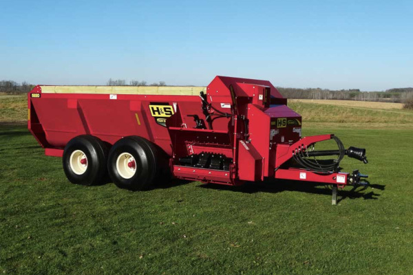 H&S | Top Shot Side Discharge Manure Spreaders | Model Model 5220 for sale at Hines Equipment, A full-service equipment dealer in Central Pennsylvania.