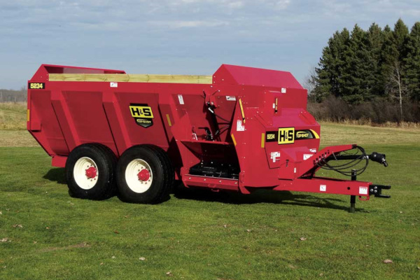 H&S | Top Shot Side Discharge Manure Spreaders | Model Model 5234 for sale at Hines Equipment, A full-service equipment dealer in Central Pennsylvania.