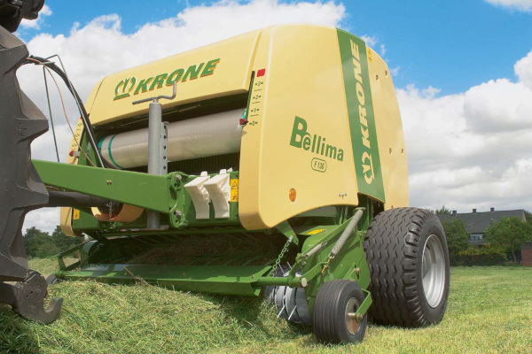 Krone | Bellima Round Balers | Model Bellima F 130 for sale at Hines Equipment, A full-service equipment dealer in Central Pennsylvania.