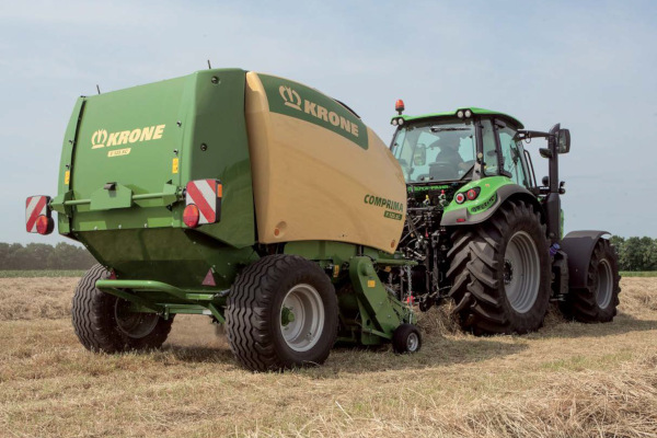 Krone Comprima F 125 XC for sale at Hines Equipment, A full-service equipment dealer in Central Pennsylvania.
