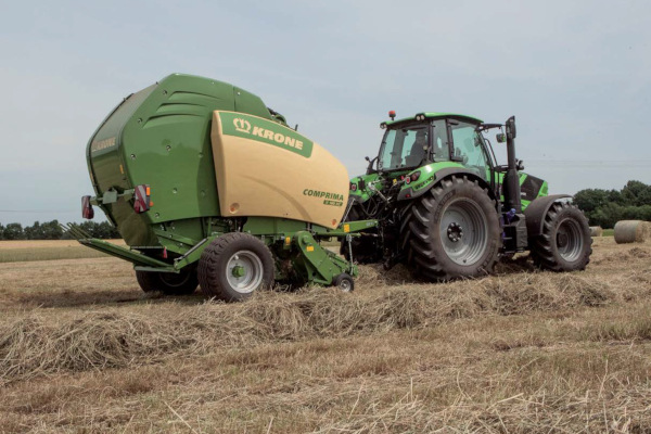 Krone | Comprima Round Balers | Model Comprima V 180 XC for sale at Hines Equipment, A full-service equipment dealer in Central Pennsylvania.