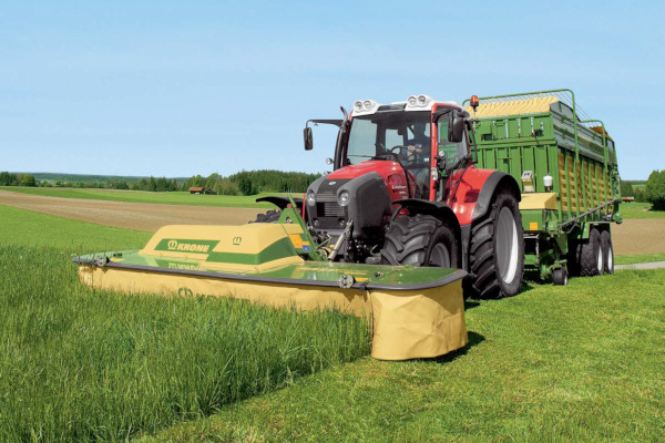 Krone | Front-Mounted Disc Mowers EasyCut F | Model EasyCut F 320 for sale at Hines Equipment, A full-service equipment dealer in Central Pennsylvania.