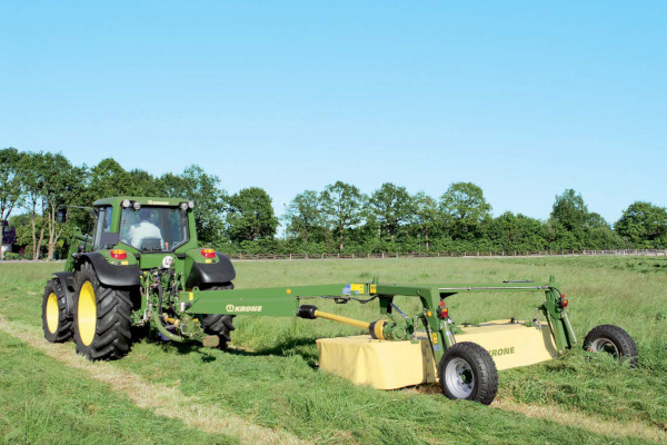 Krone EasyCut 3200 for sale at Hines Equipment, A full-service equipment dealer in Central Pennsylvania.