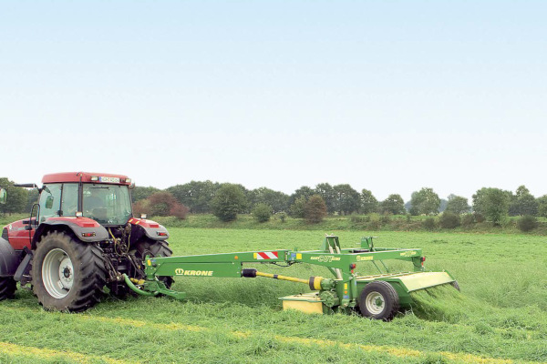 Krone EasyCut 3600 CV for sale at Hines Equipment, A full-service equipment dealer in Central Pennsylvania.
