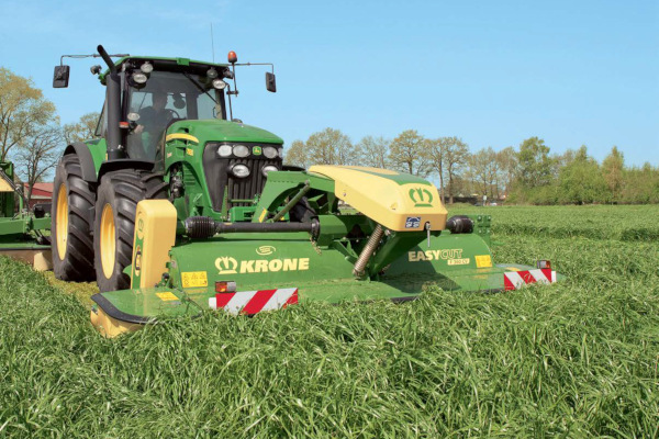 Krone | Front-Mounted Disc Mowers EasyCut F | Model EasyCut F 360 CR for sale at Hines Equipment, A full-service equipment dealer in Central Pennsylvania.
