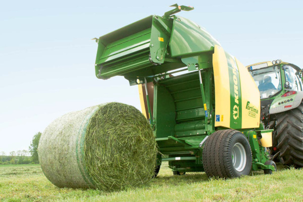 Krone | Fortima Round Balers | Model Fortima F 1250 MC for sale at Hines Equipment, A full-service equipment dealer in Central Pennsylvania.