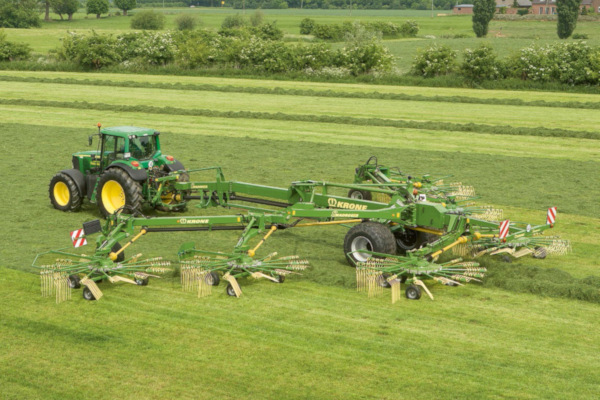 Krone | Rotary Rakes | Six-Rotor Rakes for sale at Hines Equipment, A full-service equipment dealer in Central Pennsylvania.