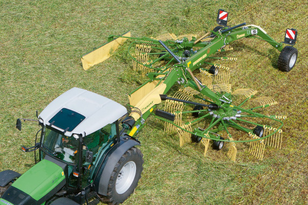 Krone | Rotary Rakes | Twin Rotor Side Delivery Rakes for sale at Hines Equipment, A full-service equipment dealer in Central Pennsylvania.