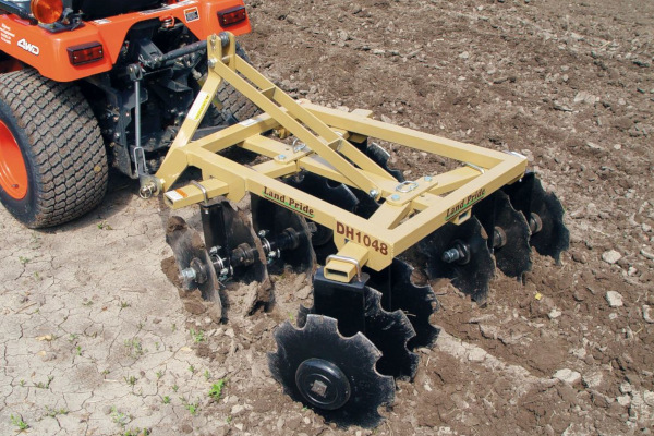 Land Pride | DH10 Series Disc Harrows | Model DH1060 for sale at Hines Equipment, A full-service equipment dealer in Central Pennsylvania.