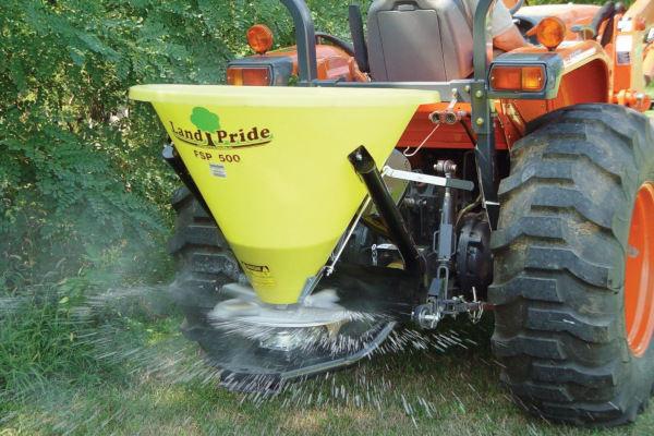 Land Pride | Seeders | FSP Series Spreaders for sale at Hines Equipment, A full-service equipment dealer in Central Pennsylvania.