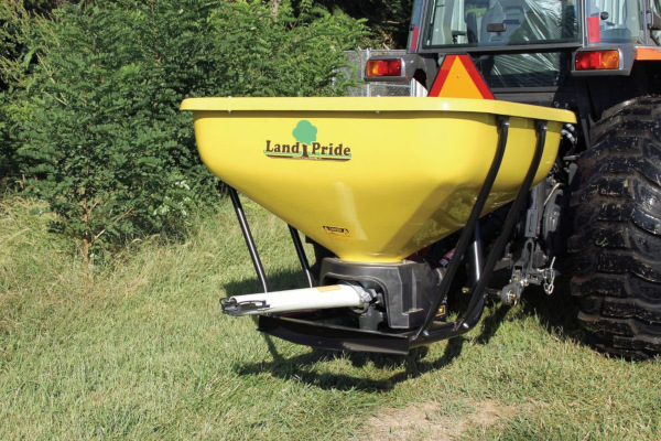 Land Pride | Seeders | PFS Series Spreaders for sale at Hines Equipment, A full-service equipment dealer in Central Pennsylvania.