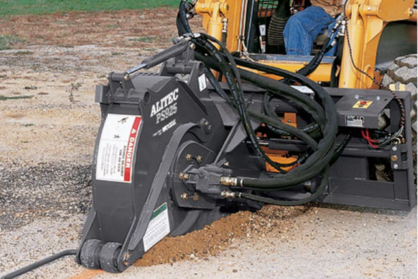 Woods | Skid Steer Attachments | Pavement Saws for sale at Hines Equipment, A full-service equipment dealer in Central Pennsylvania.