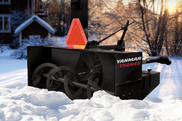 Yanmar | Snow Blowers | Model YSB64S for sale at Hines Equipment, A full-service equipment dealer in Central Pennsylvania.